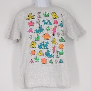 Hilarious Vintage 90s Animal T Shirt Men's XL